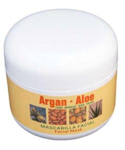 Argan Aloe mascarilla facial